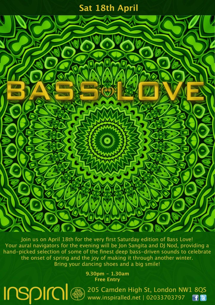 Bass Love Flyer