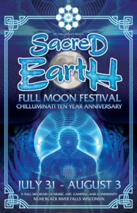 Sacred Earth Flyer